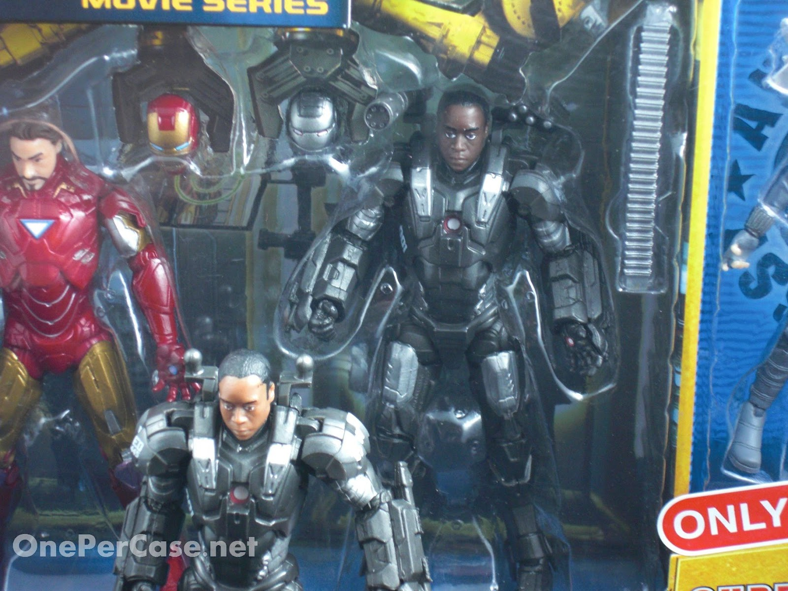 One Per Case: Cancelled Iron Man 2 Unmasked Stark, Rhodey & Black
