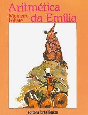 aritmética da emília - monteiro lobato - editora brasiliense - sítio do picapau amarelo - manoel victor filho - jacob levitinas - década de 1990 - década de 2000 - capa de livro - bookcover