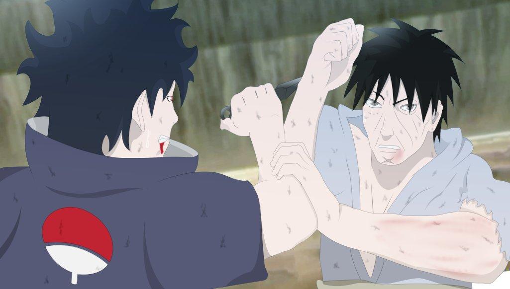 uchiha shisui vs danzo - photo #2