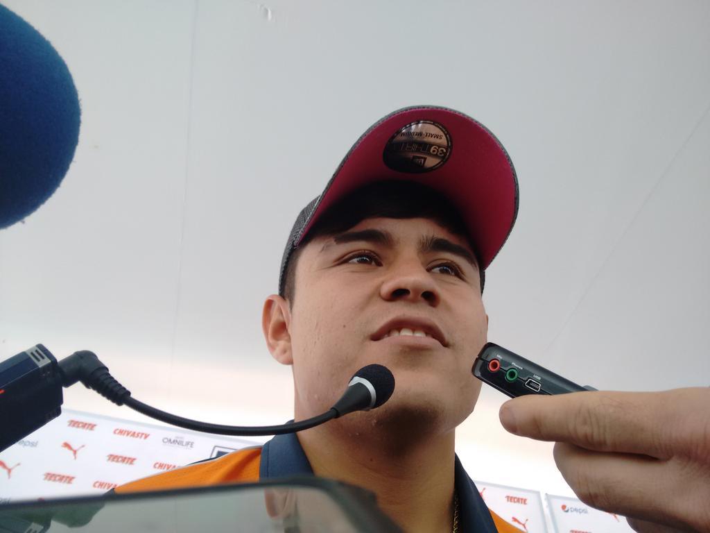 Javier 'Chofis' López durante el día de medios previo al 'clásico nacional'.