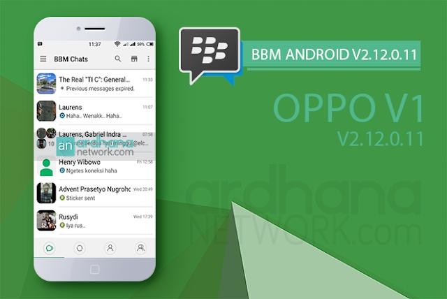 BBM Oppo v1 - BBM Mod v2.12.0.11