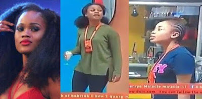 #BBNaija: Watch Moment Nina and Cee-C nearly came to blows in the House