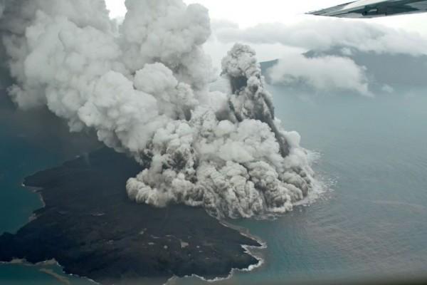 Pasca Erupsi, Tinggi Gunung Anak Krakatau Lebih Rendah dari Pulau Sertung
