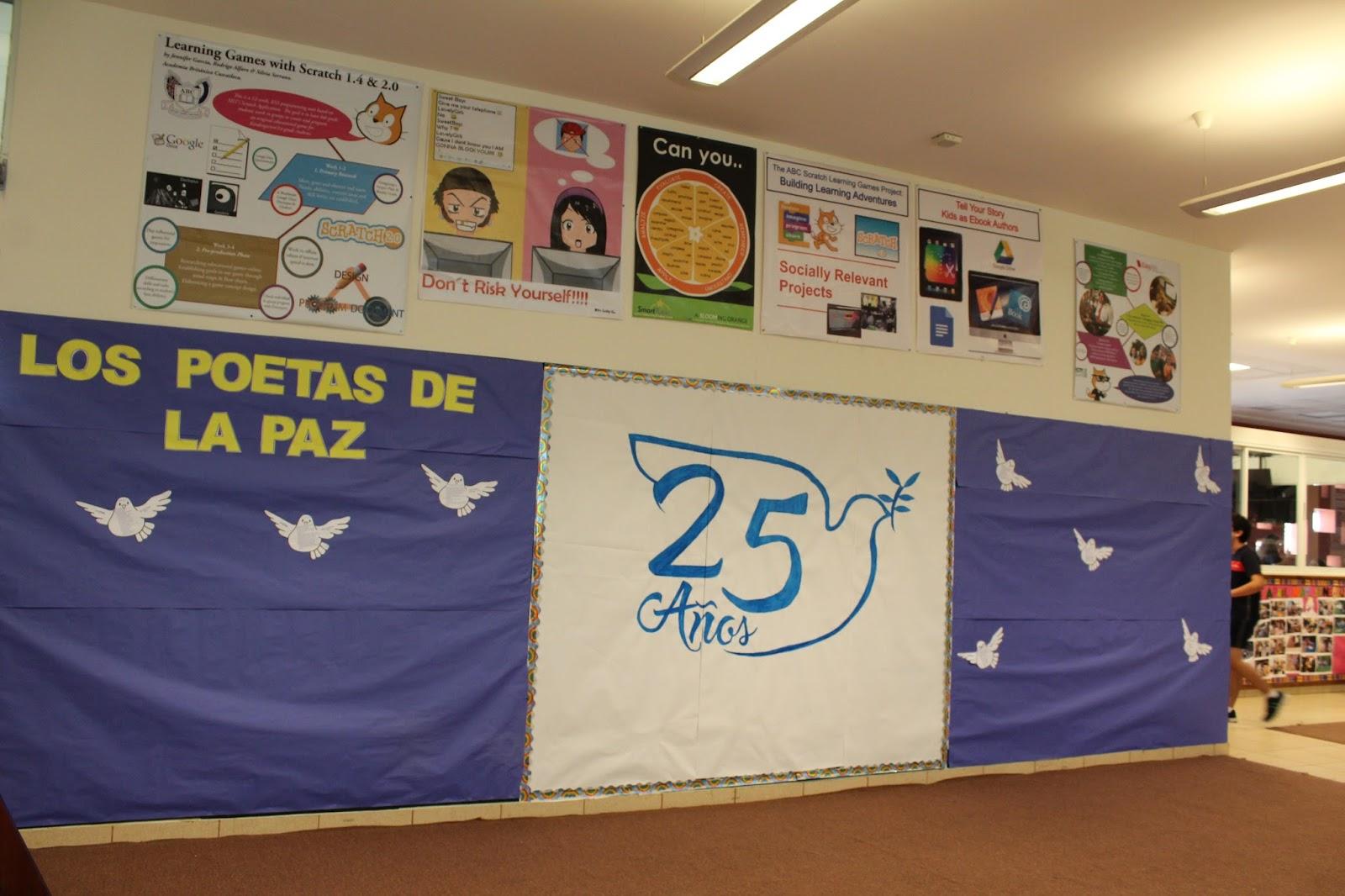 Murales Educativos Semana De La Poesia 2017
