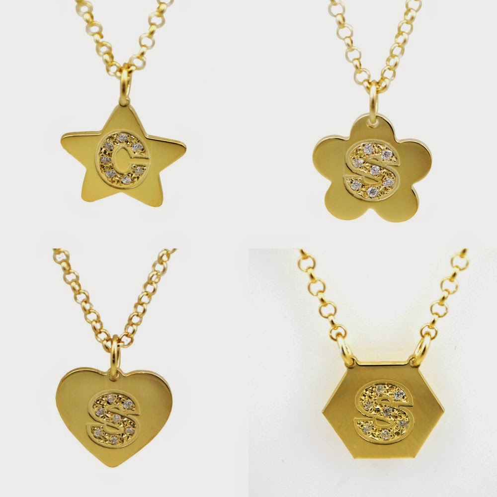 d77cf2e8cb0d Be Monogrammed  Personalized CZ Initial Necklaces
