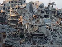 Serangan Udara Meninggalkan Kota Aleppo 'Tanpa Air'