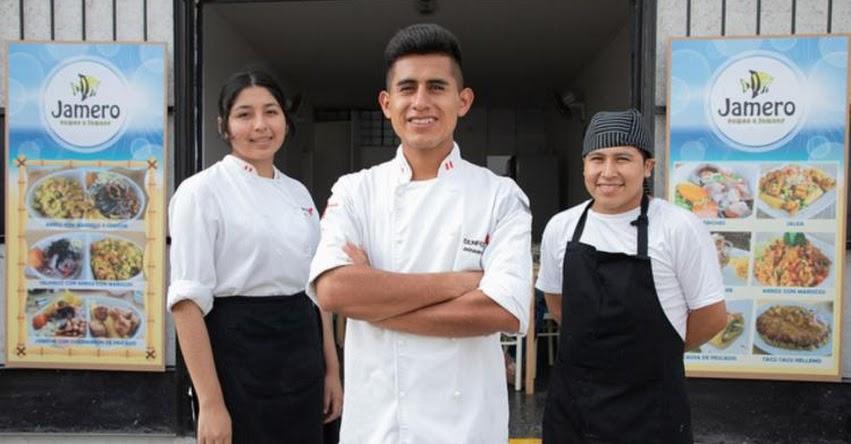 BECA 18: Joven Huanuqueño exbeneficiario de beca ahora tiene un restaurante en Surquillo