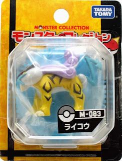 Raikou figure Takara Tomy Monster Collection M series