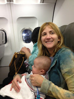 flying with twin babies