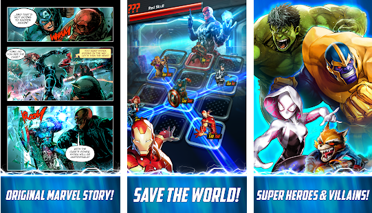 Screenshots of Marvel Battle Lines 01