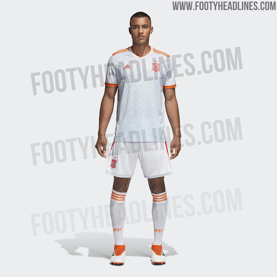 5884798f399 Adidas 2018 World Cup Away Kits Released - Footy Headlines