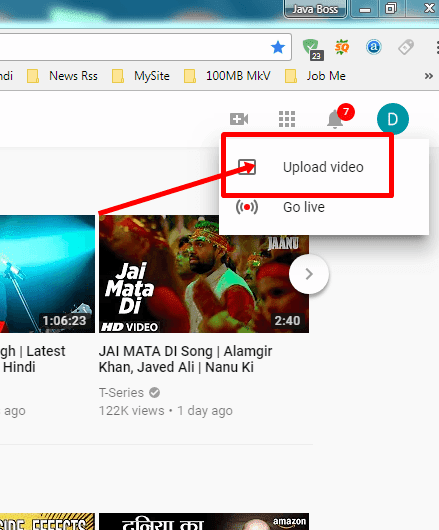 how to upload videos on youtube, youtube par videos kaise upload kare in hindi, youtube tutorials in hindi