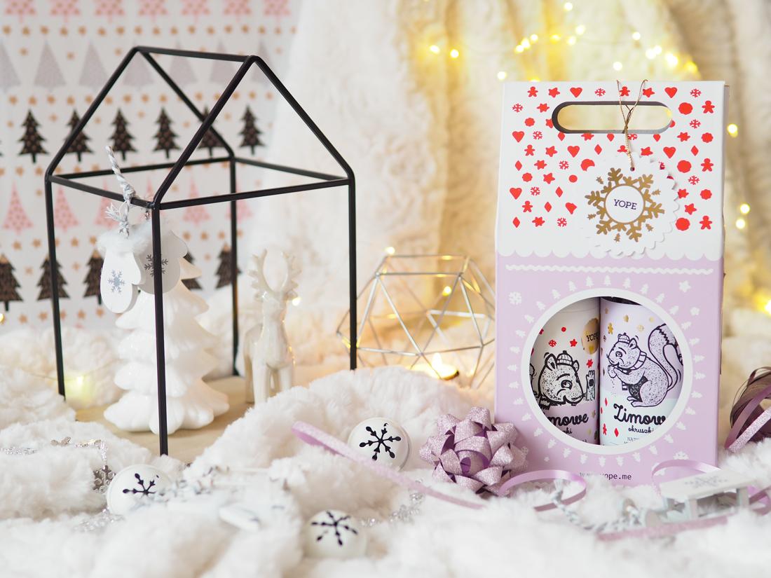 W zimowym klimacie - Zimowe okruszki od YOPE czyli mydło i balsam ( nie tylko ) do rąk