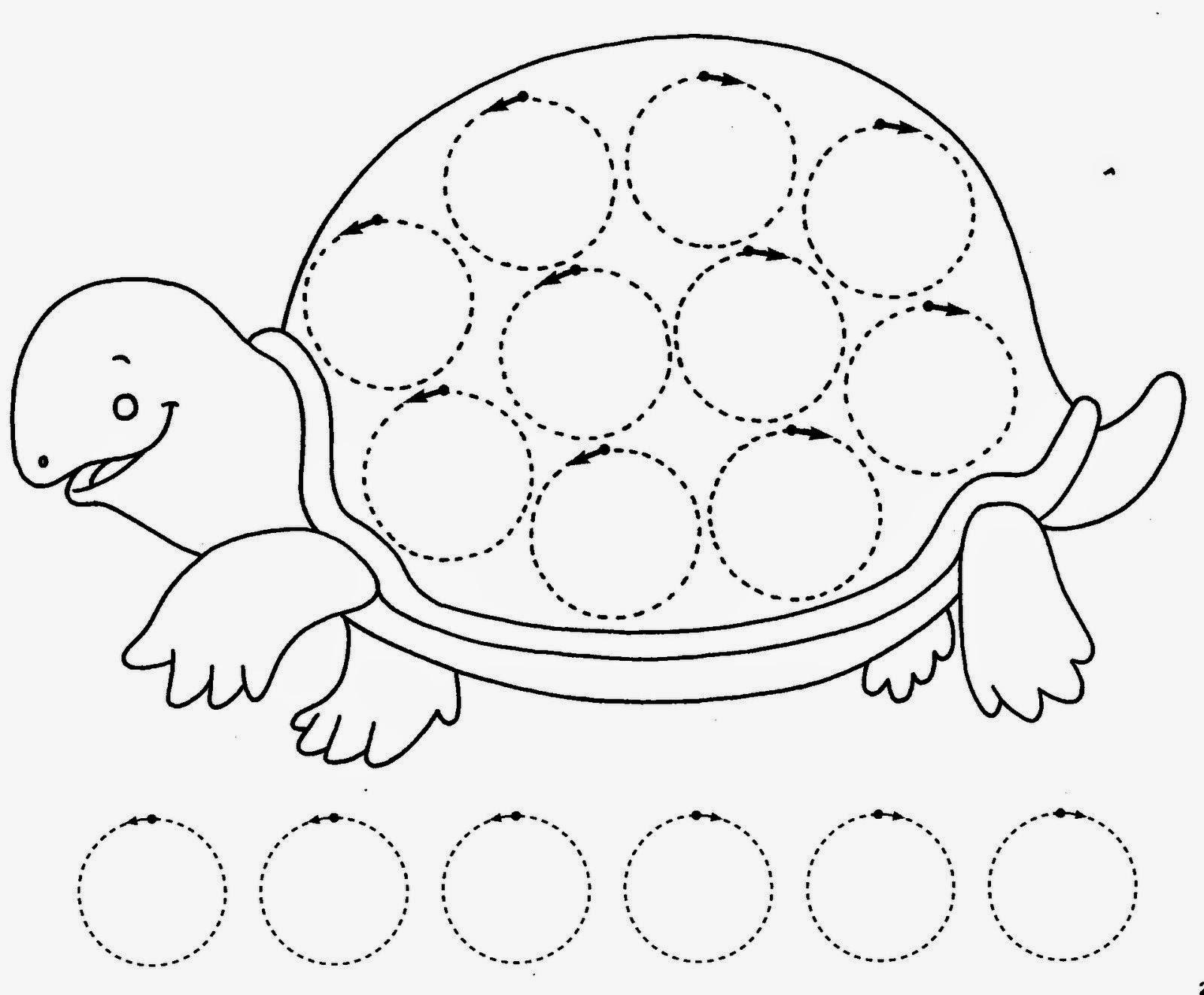 Colorear Dibujos Ninos 3 Anos: Aurelia Aprende A Ser Mamá: Fichas Grafomotricidad Para