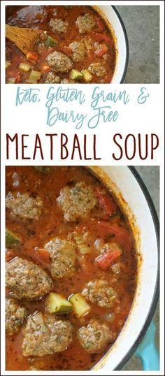 Keto Meatball Soup Recipes