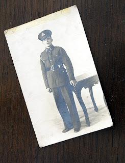 A.S.Davis in Territorial Army
