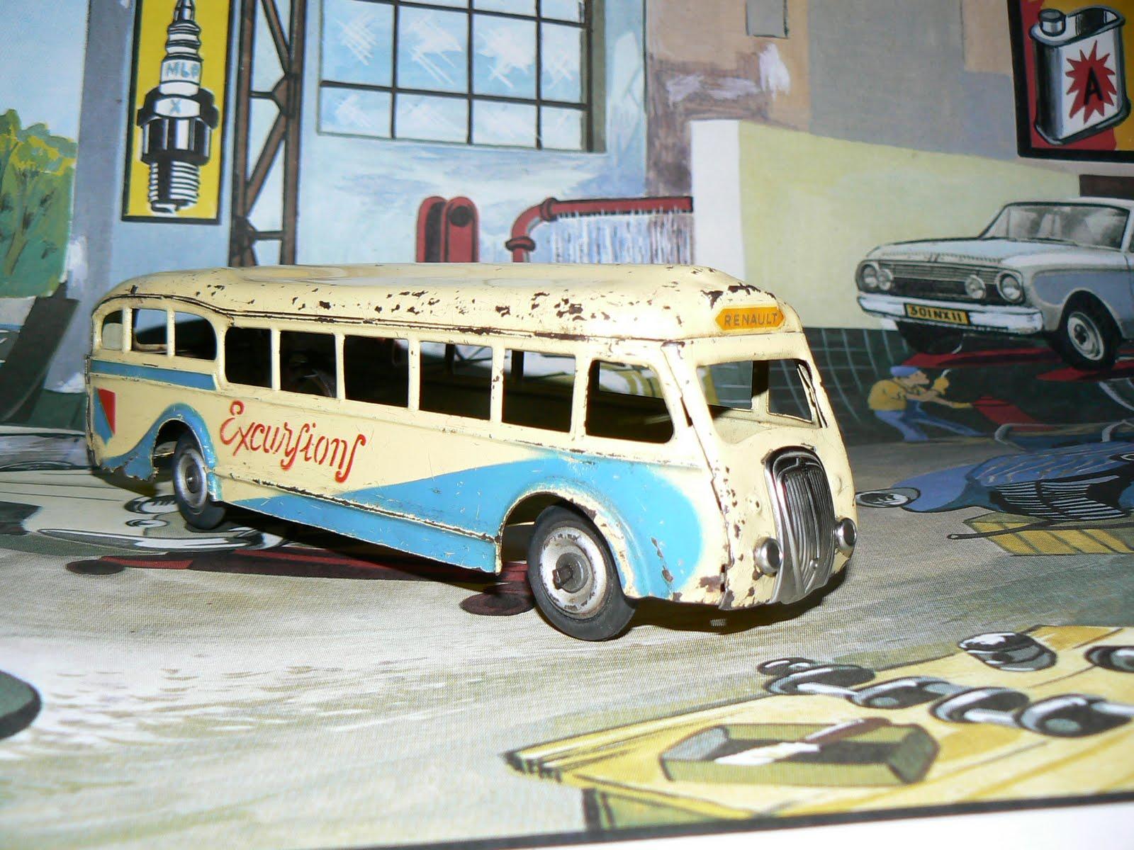 i Jouets j Renault AnciensSortie Garage De Adtd C Bus I6Y7vfbgy