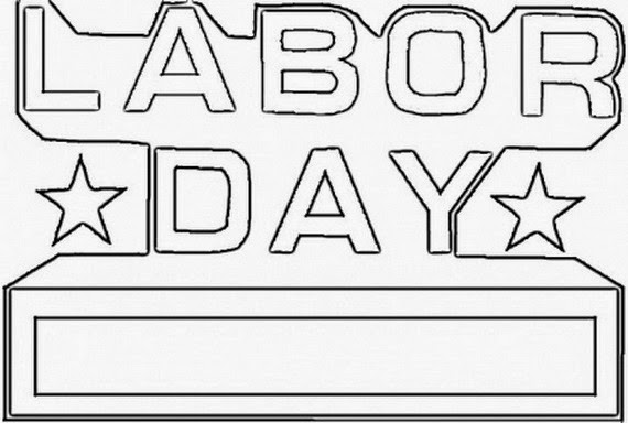 Labor Day Coloring Pages - ColoringAll | 384x570