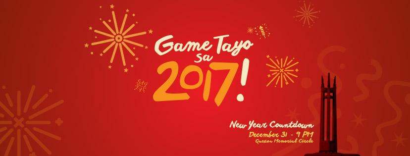 """""""Game Tayo sa 2017"""" TV5 New Year Countdown"""