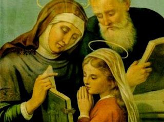 Santo do dia 26 de Julho - São Joaquim e da sant'Anna