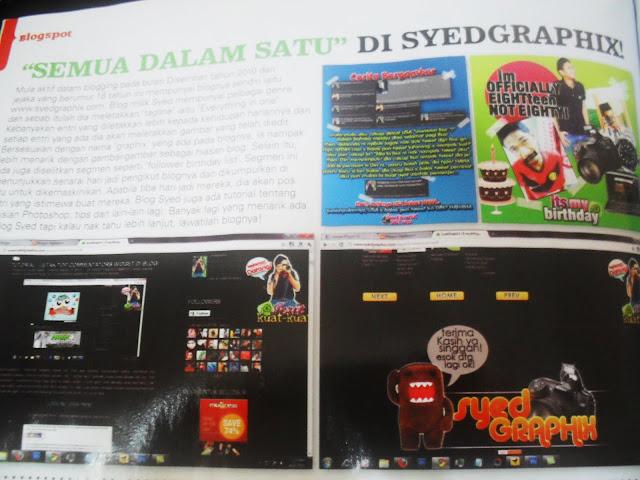 Syedgraphix di Majalah Mangga