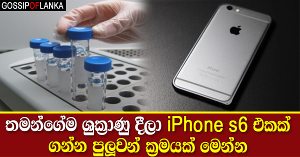 Sperm bank offers cost of iPhone 6s for 17ml donation