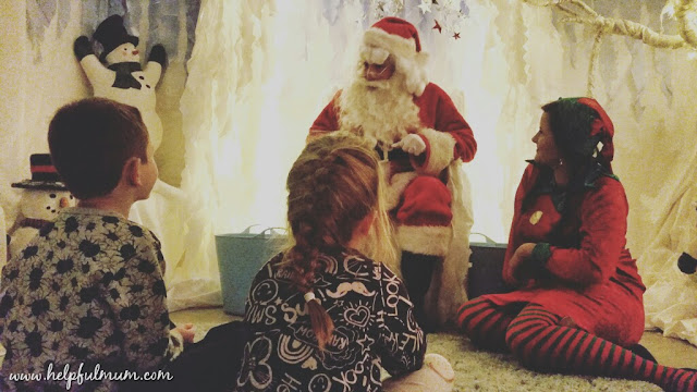 Meeting Santa Claus