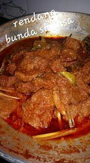 Resep Rendang Daging Sapi Kering Mudah Bikinnya