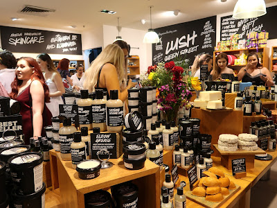 Lush Queen St Australia Bloggers United Event