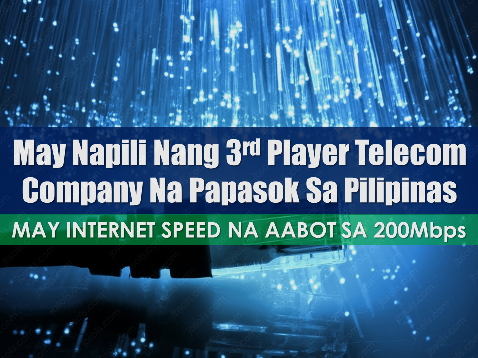 "The telecommunications business has been dominated by two giants PLDT and Globe Telecom eversince, leaving Filipinos with no choice but to avail their internet services. According to surveys, the internet connection in the Philippines is among the slowest internet speed in the world at a higher subscription cost.  Students, Overseas Filipino Workers and their families, companies and individuals with online businesses depend on reliable internet connection. The poor internet speed is evident that even Alibaba Executive, Jack Ma came to experience it when he visited the country and he said that the internet in the Philippines is ""not good"".  President Rodrigo Duterte said that he will allow foreign players to enter the Philippine telecommunications market to provide good quality internet service for the Filipinos.     Just recently, a telecommunications service provided which offers up to 200mbps of internet speed at a lower cost was chosen to enter the Philippine market. This initiative is according to the President's mandate to provide Filipinos with affordable internet service without sacrificing the speed and quality.  Sponsored Links  Presidential Communications Operations Office Secretary  Martin Andanar said that the government has chosen China Telecom, the biggest telco in China and duly registered in Hong Hong Stocks Exchange, to be the third player that will break the telco duopoly in the country.    In China, the citizens are paying 196 Chinese Yuan for a months subscription with speed of 100mbps, that is only around P1,200+. Whereas in the Philippines, that same cost is good only for 3mbps speed.  Letting foreign internet providers in the Philippine market allowing competition will make drastic changes in the internet package pricing and speed and the Filipinos are expected to benefit from it especially the OFWs.  However, Andanar clarified that before China Telecom can enter the local market, it needs to be tied in a local partner in accordance with the existing laws. Foreign company shares should not exceed to 40% with its Philippine partner.  Source: Inquirer.net       Advertisement  Read More:                 ©2017 THOUGHTSKOTO"