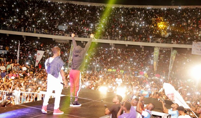 Photos: Joyce Blessing, Kuami Eugene, KiDi, Stonebwoy, Shatta Wale, others Thrill Thousands At #SConcert2017