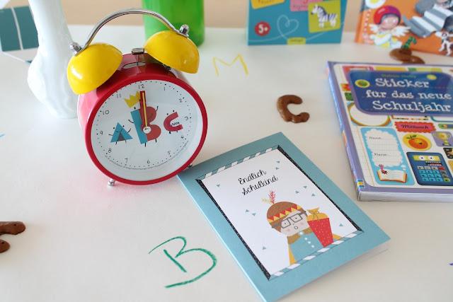 Einschulung Schulanfang Ideen Schultuete Zuckertuete Tischdeko Jules kleines Freudenhaus