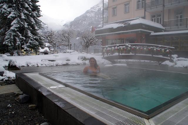 Hotel Belvedere Switzerland Outdoor Jacuzzi