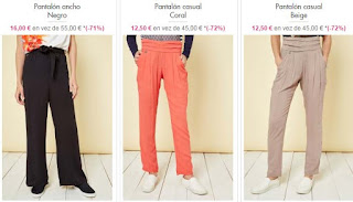 pantalones mujer de Smash