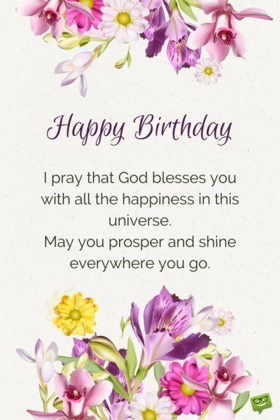 Outstanding 310 Religious Happy Birthday Blessings And Prayers 2019 Irish Personalised Birthday Cards Veneteletsinfo