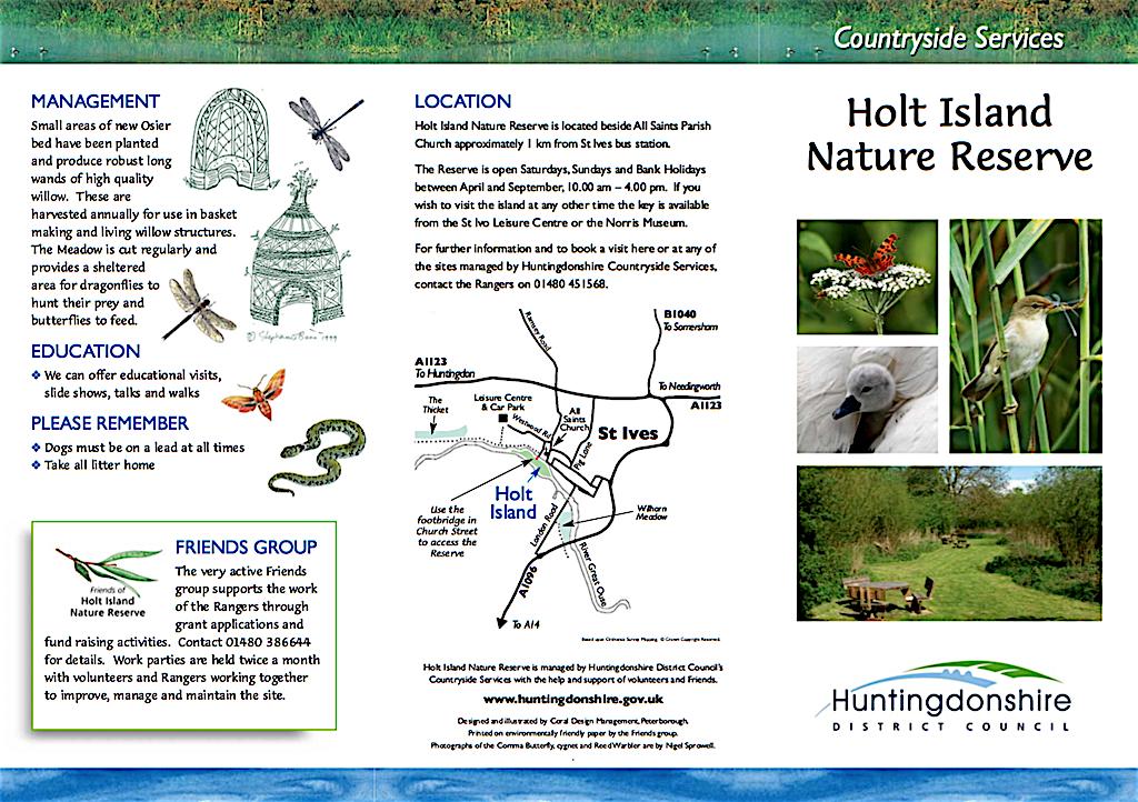 Holt Island Nature Reserve, St Ives
