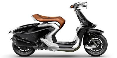 Yamaha 04Gen Concept Scooter side image