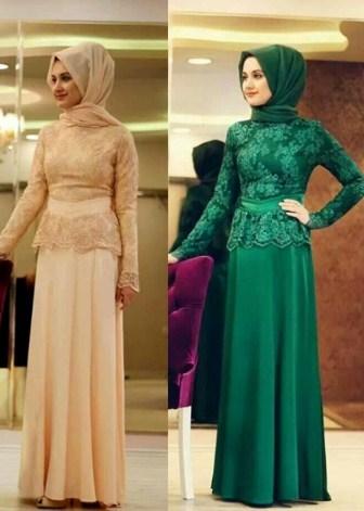 30 Model Baju Muslim Brokat Terbaru 2020 Desain Cantik