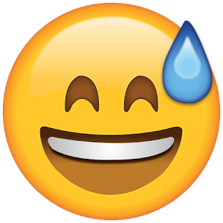 Whatsapp Sweat Emoji