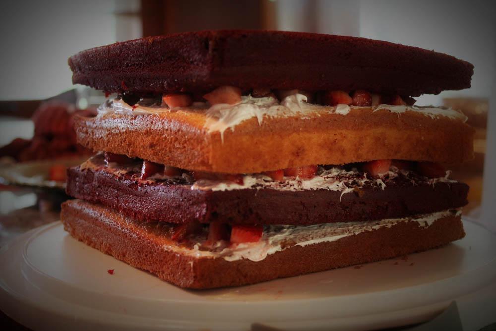 Light Fruit Cake Recipe Joy Of Baking: Sassafras: Strawberry Surprise :: Baking :: Cake