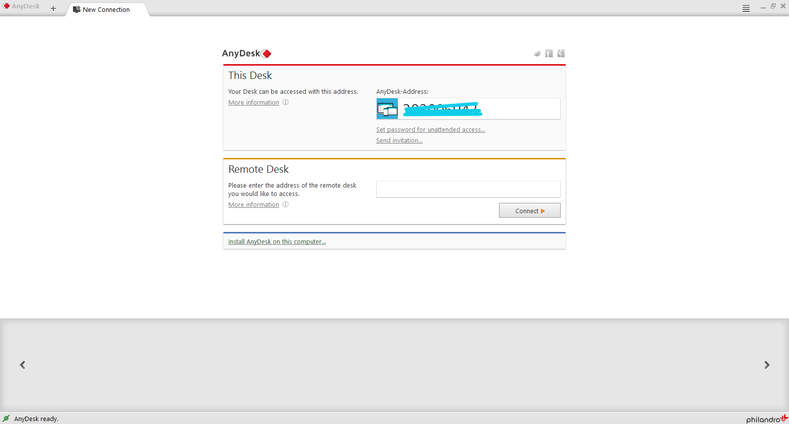 AnyDesk Screenshot 3