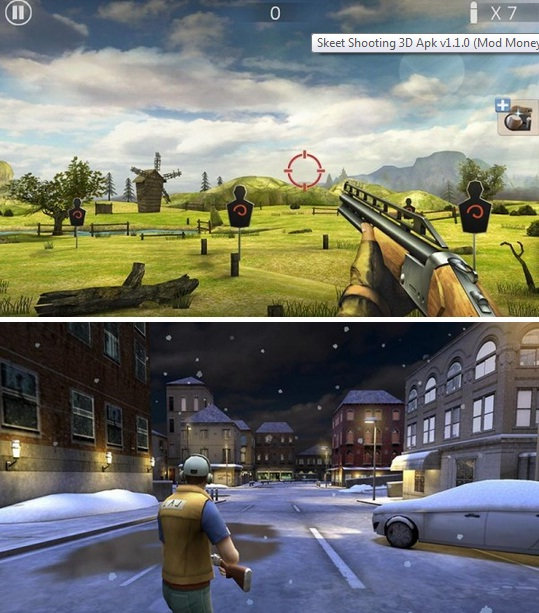Download game android MOD - Skeet Shooting 3D Apk v1.1.0 (Mod Money)[jembermycity.blogspot.com]