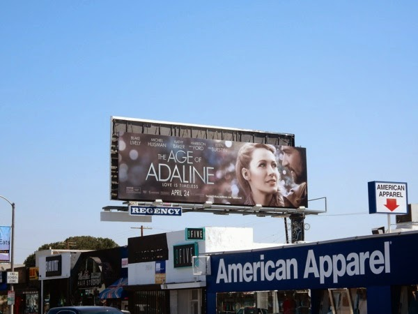 Age of Adaline billboard