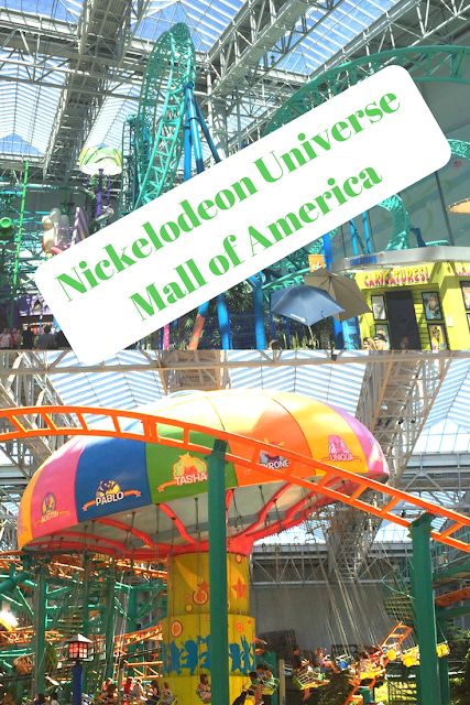 Exploring Nickelodeon Universe at Mall of America in Minnesota