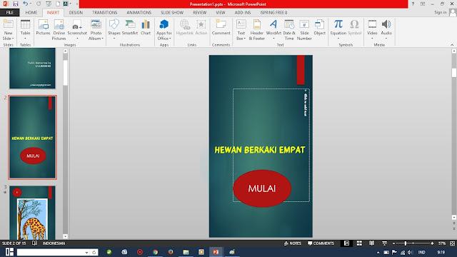Cara Cepat Membuat Hyperlink di Powerpoint 2013