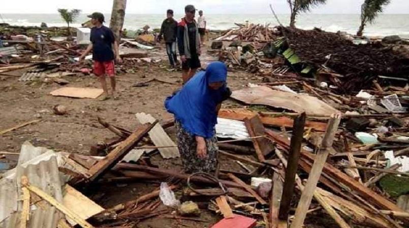 Fears of new Indonesia tsunami as Anak Krakatau volcano seethes