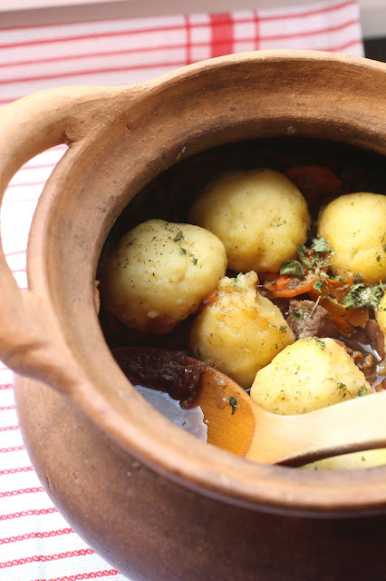recette dumplings plat mijote