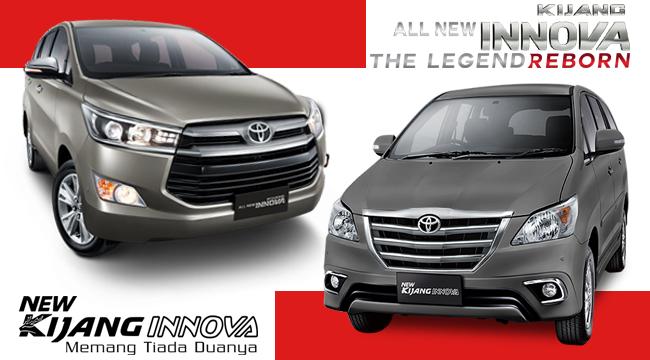 Spesifikasi All New Kijang Innova Diesel Aksesoris Grand Avanza 2015 Perbedaan Lama Dengan