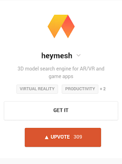 heymesh: a new search engine for VR and AR technology
