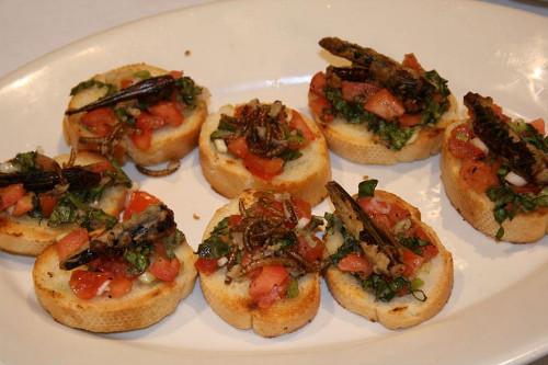 Kuliner Serba Serangga Disajikan Dalam Festival Bugfest Di Amerika